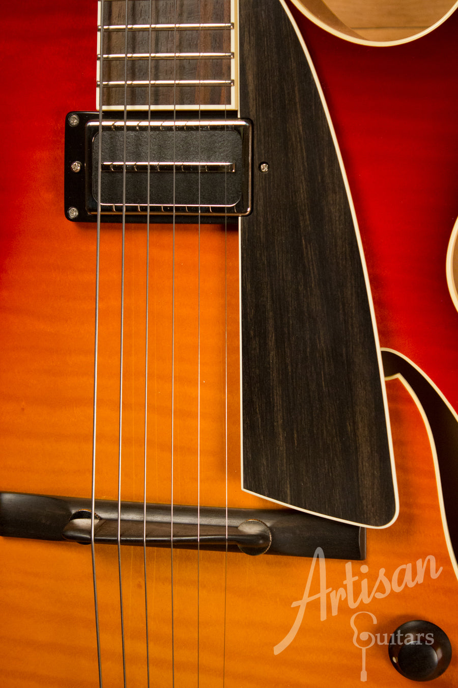 Collings Custom Eastside Deluxe LC Dark Cherry Sunburst Pre-Owned 2013 ID-10861 - Artisan Guitars