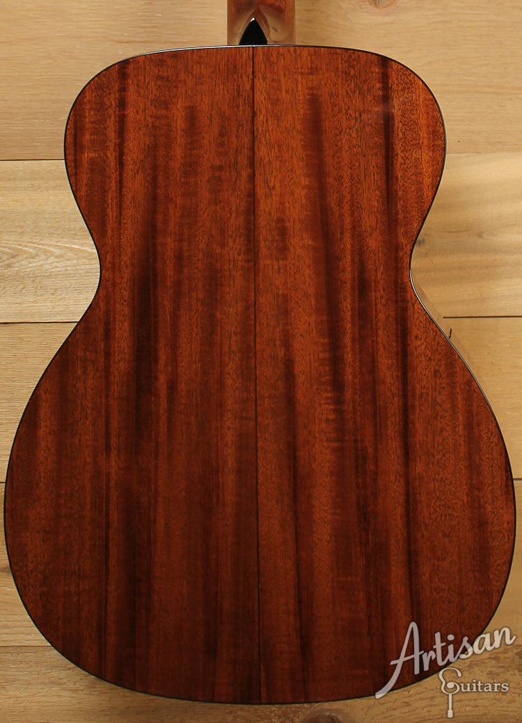 Collings OM1 SB Select Sitka Spruce and Mahogany with Western Sunburst ID-7838 - Artisan Guitars