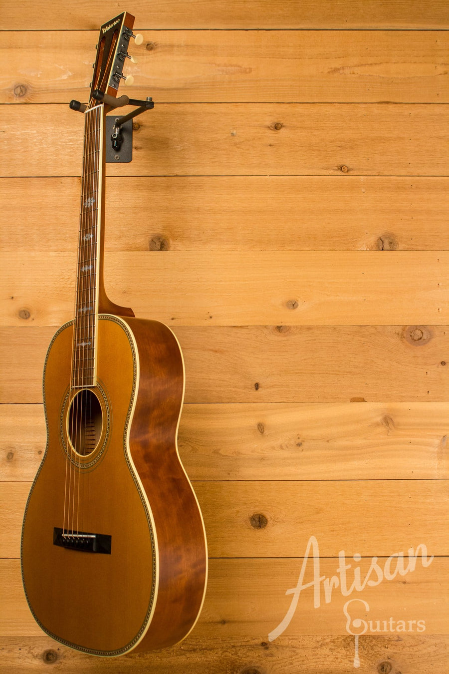 Waterloo WL-S DLX Ladder Braced Guitar Solid Spruce and Cherry ID-10779