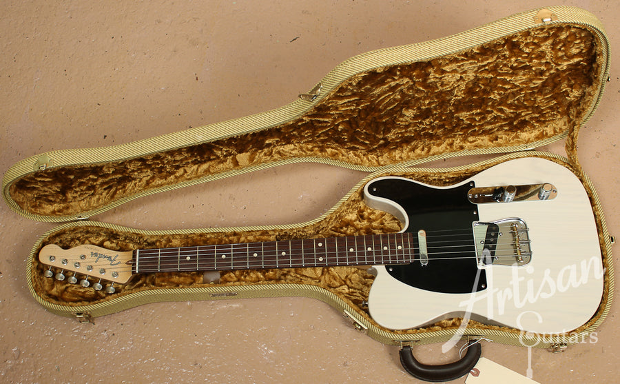 2013 Fender Custom Shop Tele Pro with White Blonde Closet Classic Finish ID-8032 - Artisan Guitars