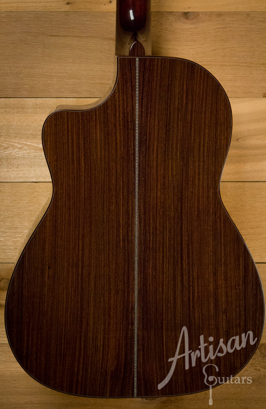 Huss and Dalton CM Guitar with Sinker Redwood and Indian Rosewood ID-10379 - Artisan Guitars