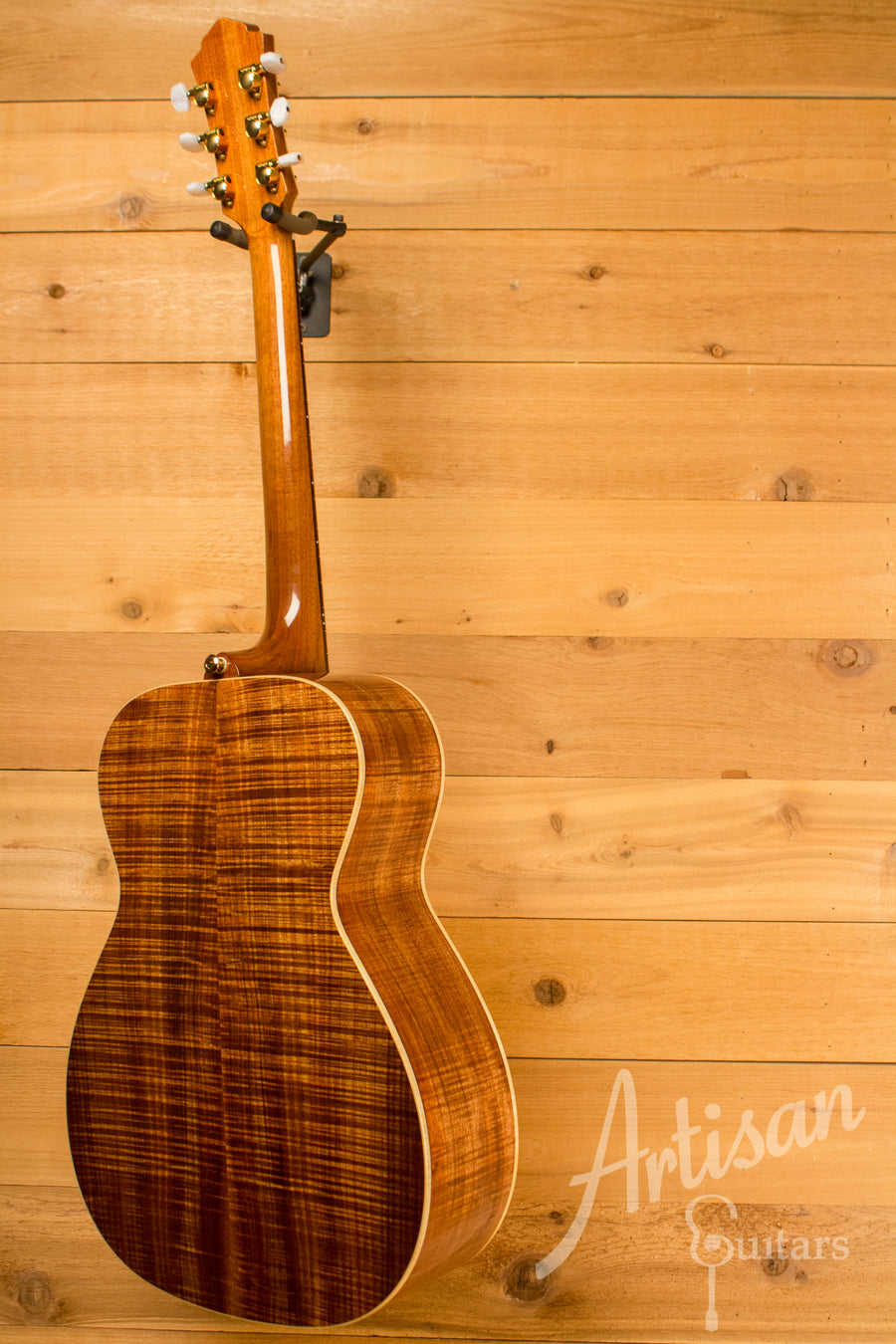 Maton WA May Custom Shop 808 T Guitar with Sitka Spruce and Fiddleback Blackwood ID-10830