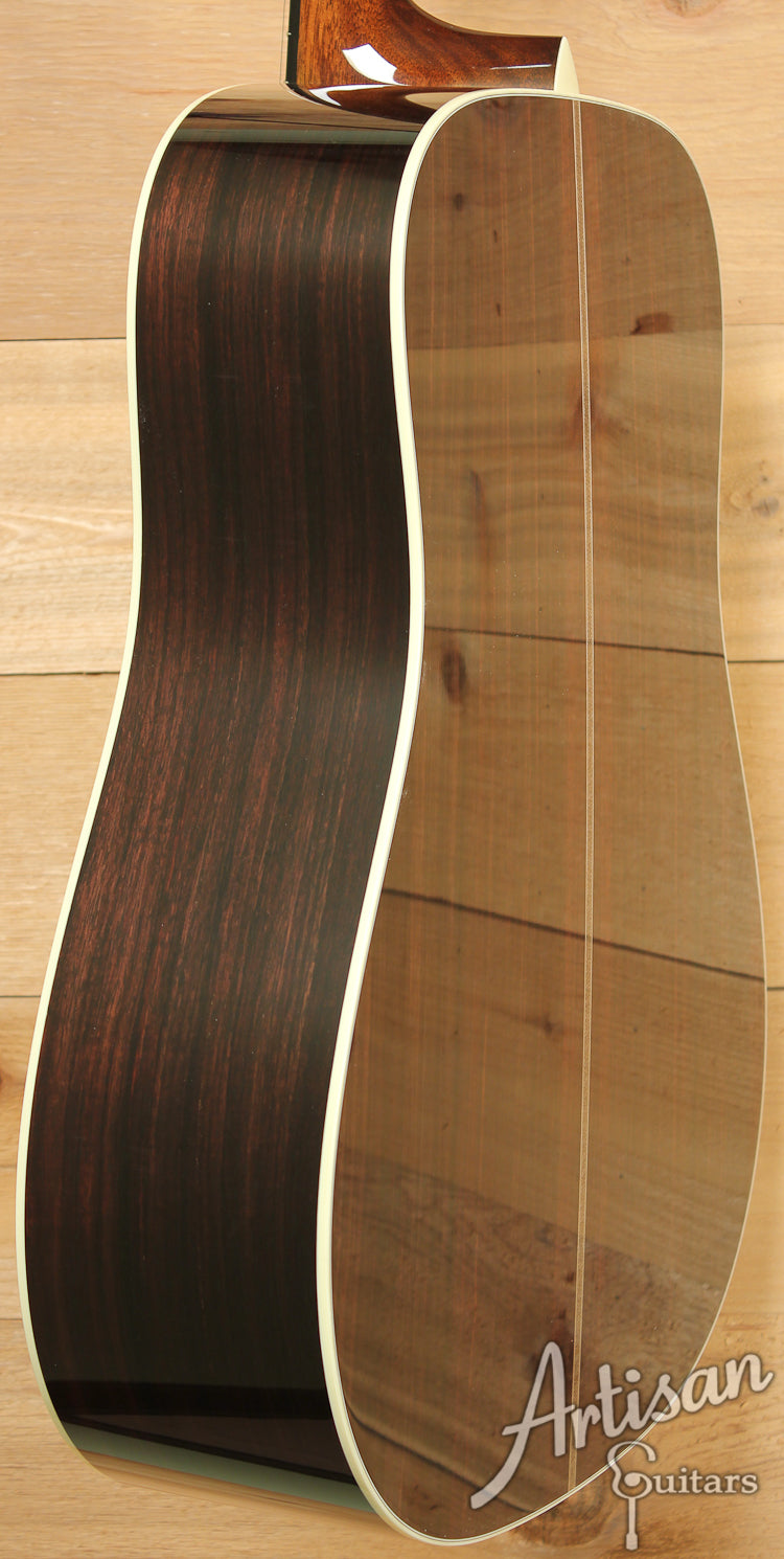 Pre Owned 2013 Collings D2H Herringbone Sitka Spruce and Indian Rosewood ID-7477 - Artisan Guitars