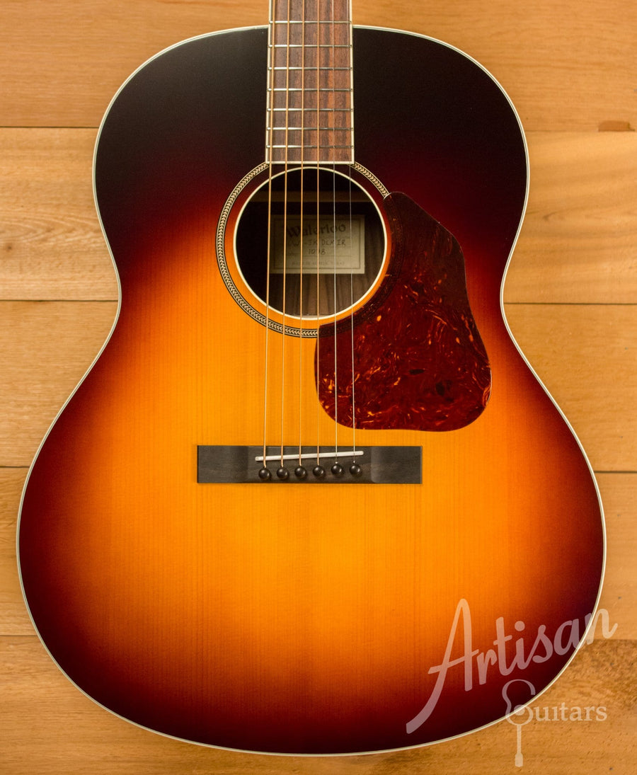 Waterloo WL-JK Dlx X Braced Guitar with Truss Rod Indian Rosewood Back and Sides ID-10832 - Artisan Guitars