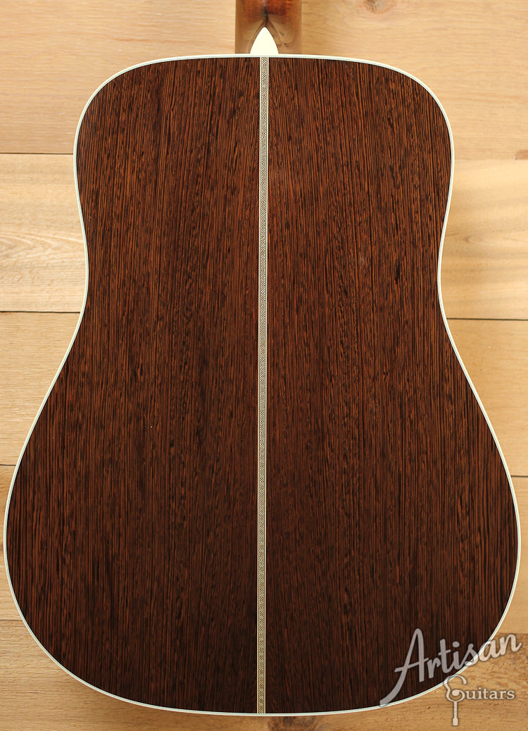 Collings D2G Wenge German and Wenge with Long Dot Inlays ID-7515 - Artisan Guitars