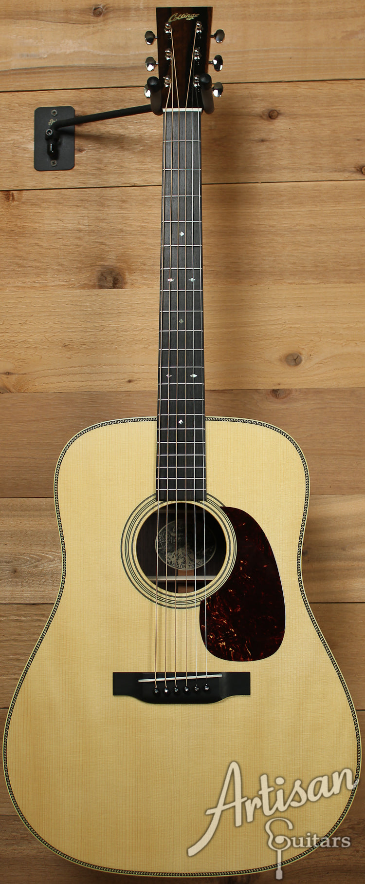 Collings D2HA Varnish Custom Adirondack Spruce and Indian Rosewood No Tongue Brace and Adirondack Bracing ID-7550