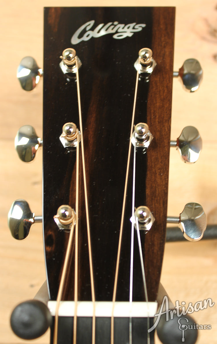 Collings OM2 E Cutaway Englemann and Indian Rosewood with Adirondack Braces ID-7362