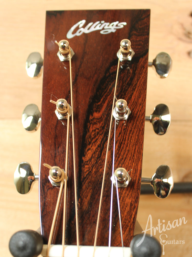 Pre Owned 2011 Collings D2HSb Sitka Spruce and Indian Rosewood with Sunburst Top ID-8115 - Artisan Guitars