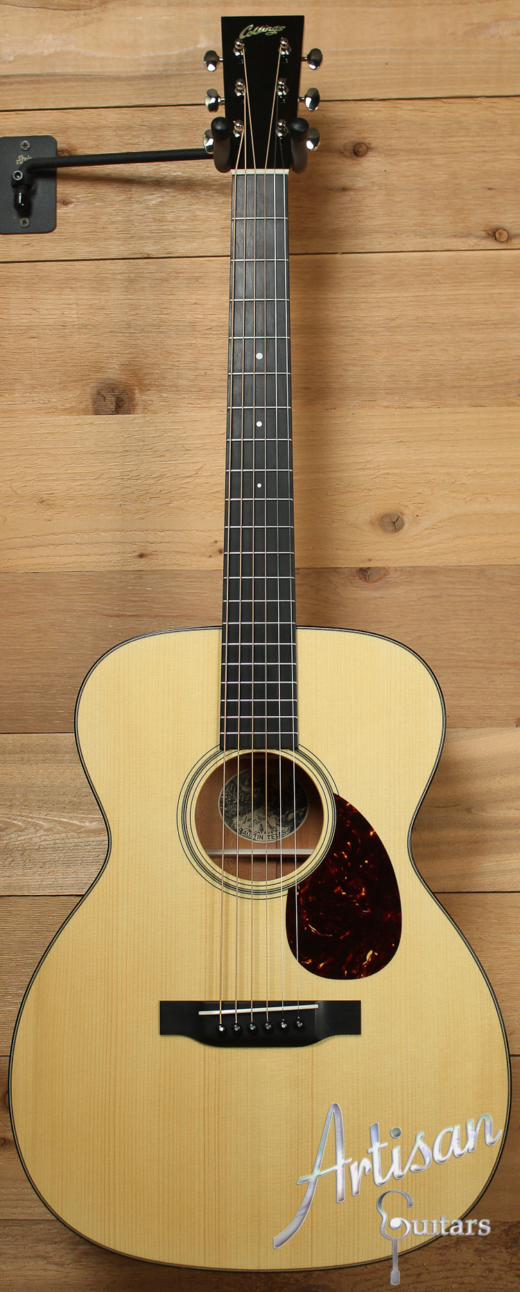 Collings OM1 A VN Custom Adirondack Spruce and Mahogany with Adirondack Braces and Varnish Finish ID-7789 - Artisan Guitars