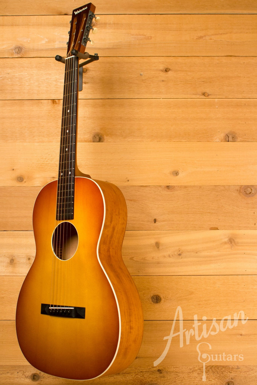 Waterloo WL-S Ladder Braced Guitar Solid Spruce and Cherry with Vintage Iced Tea Finish ID-10835