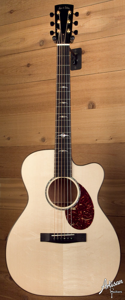 2010 Huss and Dalton OM-C with Italian Spruce and Cutaway ID-5920