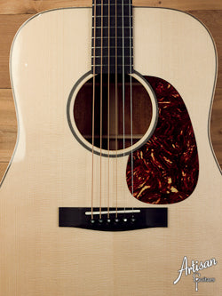 Huss and Dalton Custom DM with European Spruce and Figured Mahogany ID-5476 - Artisan Guitars