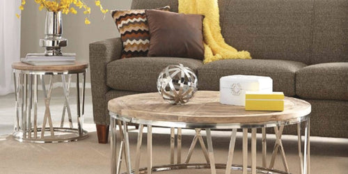sectionals and accent tables