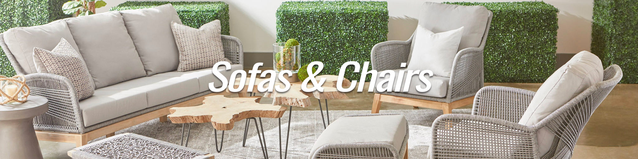 Outdoor Sofas & Chairs