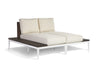 Stevie Double Chaise with End Tables