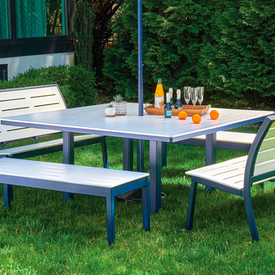 "64"" Square Outdoor MGP Dining Table"