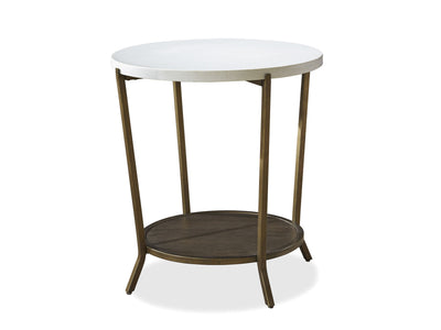 PLAYLIST ROUND END TABLE
