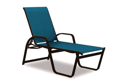 Aruba High Back Lay Flat Stacking Chaise
