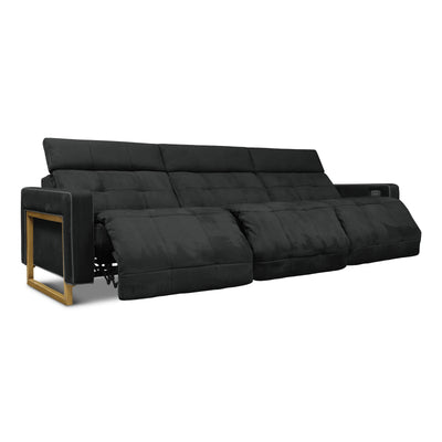 Casino Royale Leather Motion Sofa Love Seat