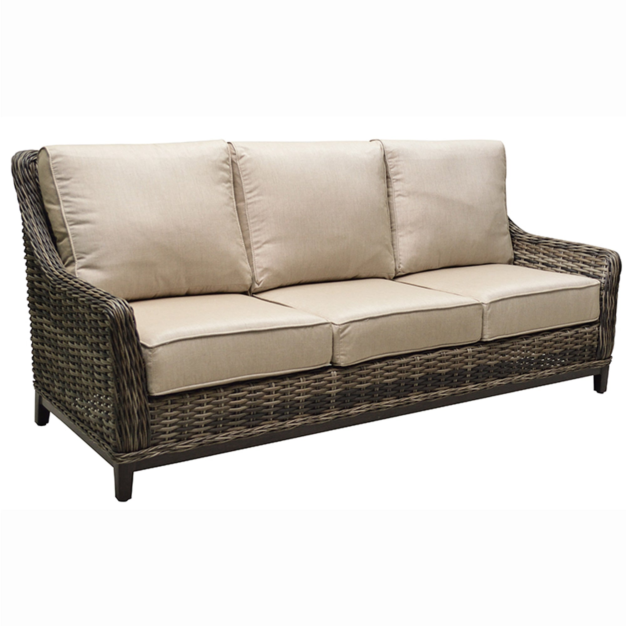 Outdoor Patio Couch Set, Catalina High Back Sofa Seating Sets Greathouse