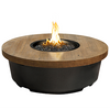 Reclaimed Wood Contempo Round Firetable