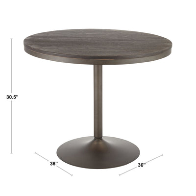 "Dakota 36"" Round Dining Table"
