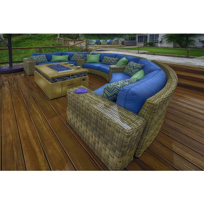 Aspen Curved Sofa Sets