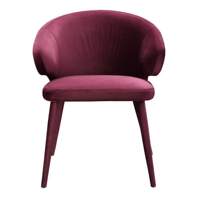 Pair of STEWART DINING CHAIRs PURPLE