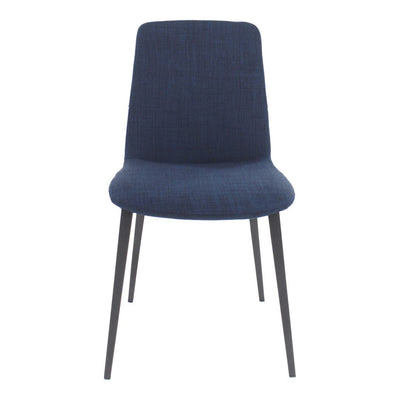 Pair of KITO DINING CHAIRs BLUE