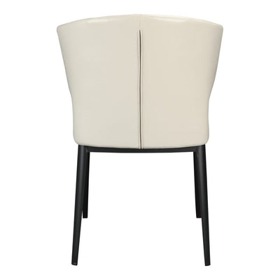 Pair of DELANEY SIDE CHAIRs BEIGE