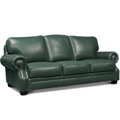 Parker Leather Sofa Love Seat