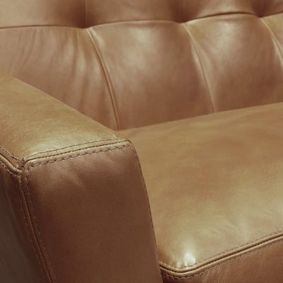 Landon Leather Sectional Sofa Love Seat