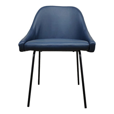 Pair of BLAZE DINING CHAIRs BLUE
