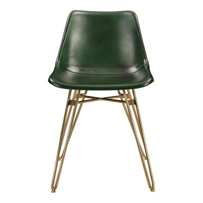 Pair of OMNI DINING CHAIRs GREEN