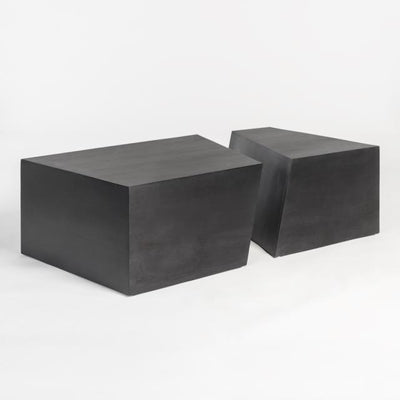 Zurich Coffee Table Black Wood Stain