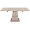 Hudson Square Natural Extension Dining Table