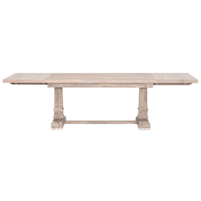 Hudson Rectangle Natural Extension Dining Table