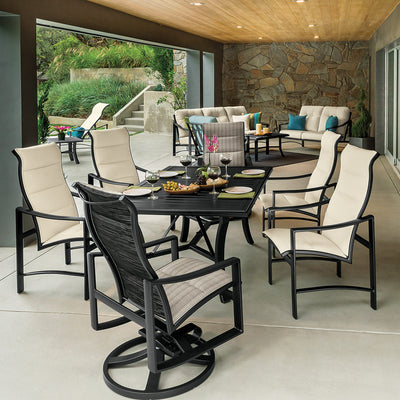 Kenzo High Back Padded Sling Dining Sets