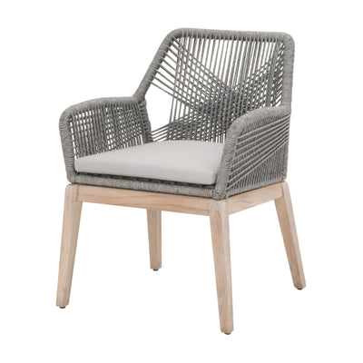 Loom Outdoor Dining Arm Chairs