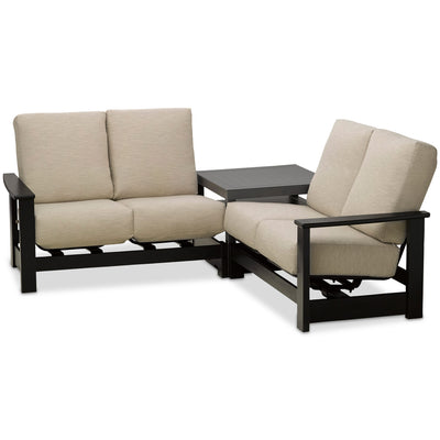 Leeward 3 Piece Hidden Motion Sectional