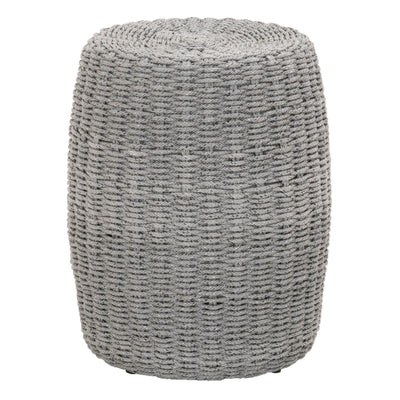 Platinum Rope Loom Accent Table
