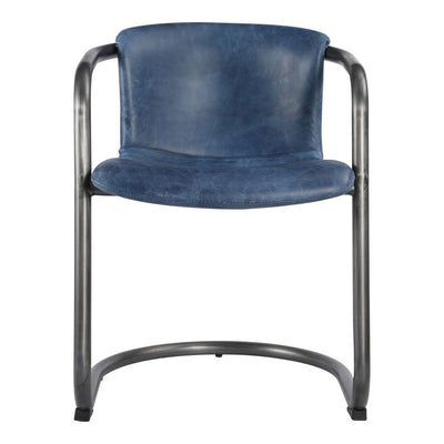 Pair of FREEMAN DINING CHAIRs BLUE