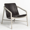 Remi Occasional Chair in black