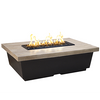 Reclaimed Wood Contempo Rectangle Firetable