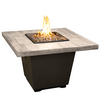 Reclaimed Wood Cosmo Square FireTable