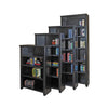 "Tribeca Loft 48"" Bookcase - Black Finish"