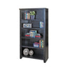"Tribeca Loft 60"" Bookcase - Black Finish"