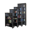 "Tribeca Loft 84"" Bookcase - Black Finish"