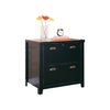 Tribeca Loft Lateral File - Black Finish