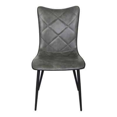 Pair of JOSIE DINING CHAIRs GREY